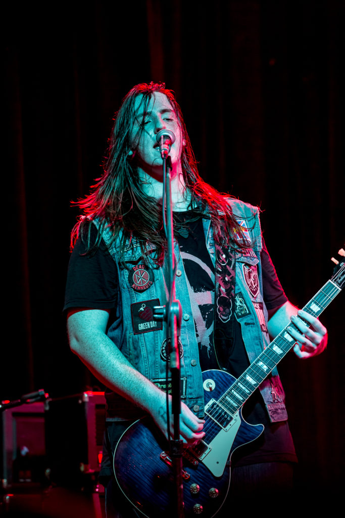Nathan Torma - Founder and lead guitar player for The Problem
